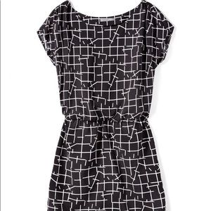 ISO Smart Set black white pattern dress